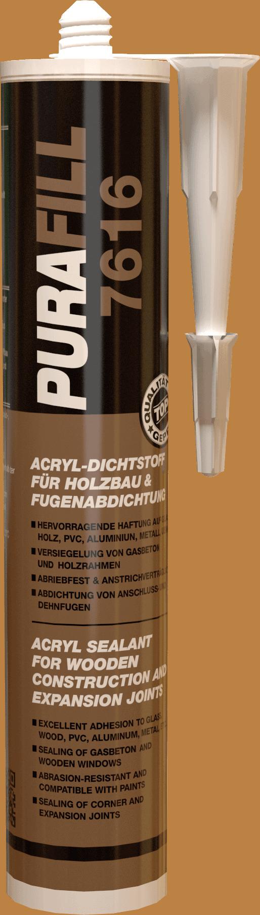 Gut bekannt PURAFILL 7616 - Acryl-Dichtstoff für Holzbau und Fugenabdichtung WW07
